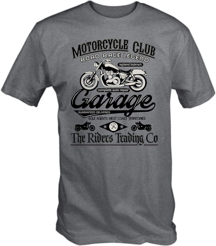 Camiseta de moto club