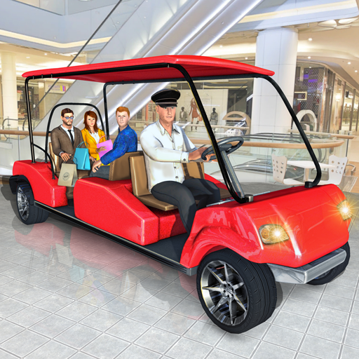 - Shopping Mall Smart Taxi: Family Car Taxi Games