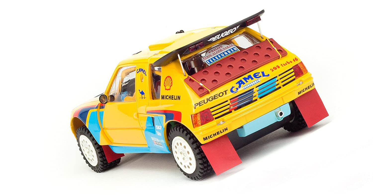 MSC Competition MSC-7402 Peugeot 205 T16 Grand Raid Dakar 1987 n.206 & n.207: Amazon.es: Juguetes y juegos