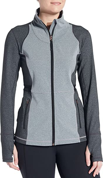 e182b48ae3f9f CALIA by Carrie Underwood Women s Core Heather Fitness Jacket (XL ...