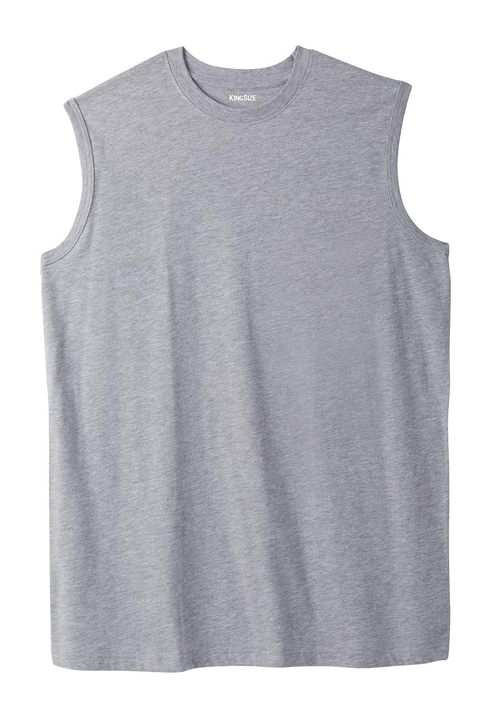 KingSize Mens Big /& Tall Lightweight Cotton Muscle Tee
