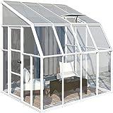 Amazon De Palram Veranda San Remo Wintergarten Weiss 295 X 425 X