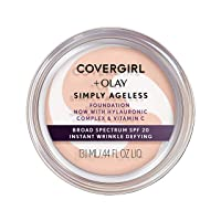 COVERGIRL & Olay Simply Ageless Instant Wrinkle-Defying Foundation, Creamy Natural
