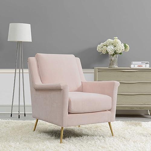Cambridge Blush Pink Blossom Accent Chair