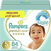 Pampers Premium Care, Size 5, Junior, 11-16 kg, Mega Box, 84 Diapers