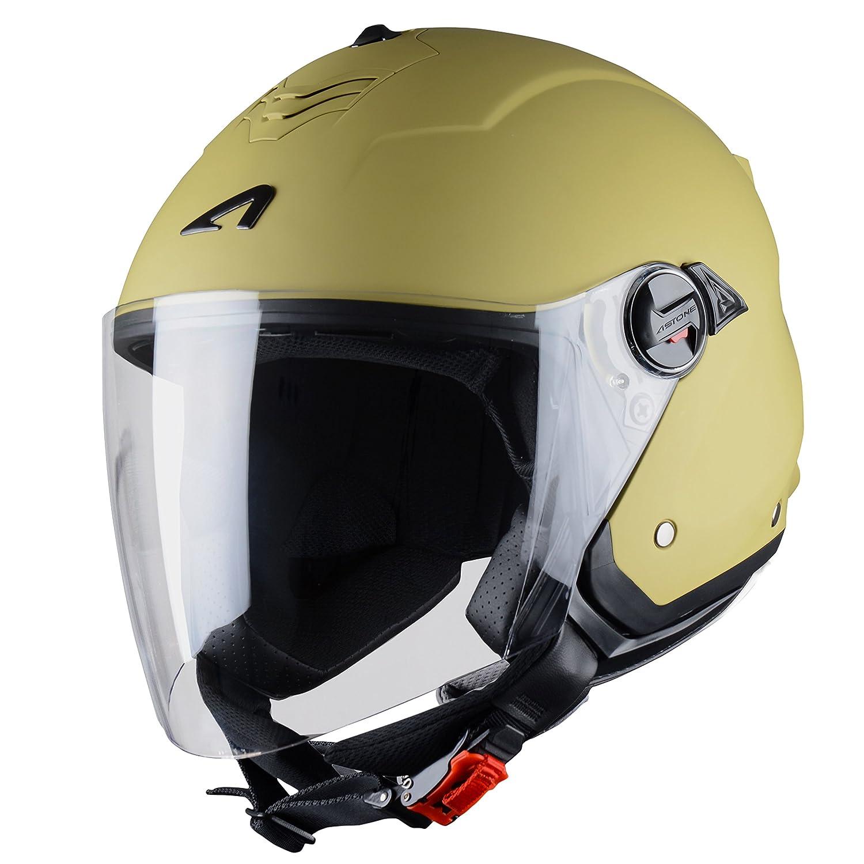 Astone Helmets MINIMS - Casco, Nero (Nero Opaco), M Astone Helmets Distribution MINIMS-BMM