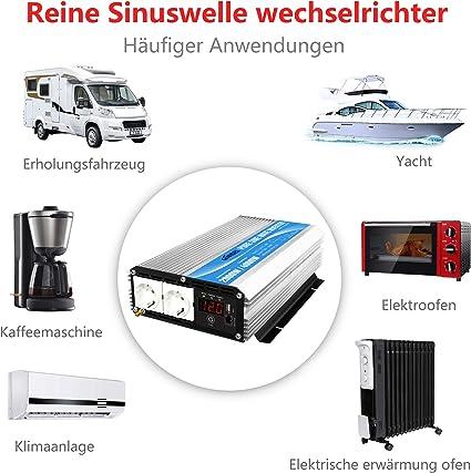 Giandel Pure Sine Wave Power Inverter 600w 4000w For Elektronik