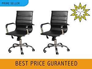 Steel Office Chair (Black)