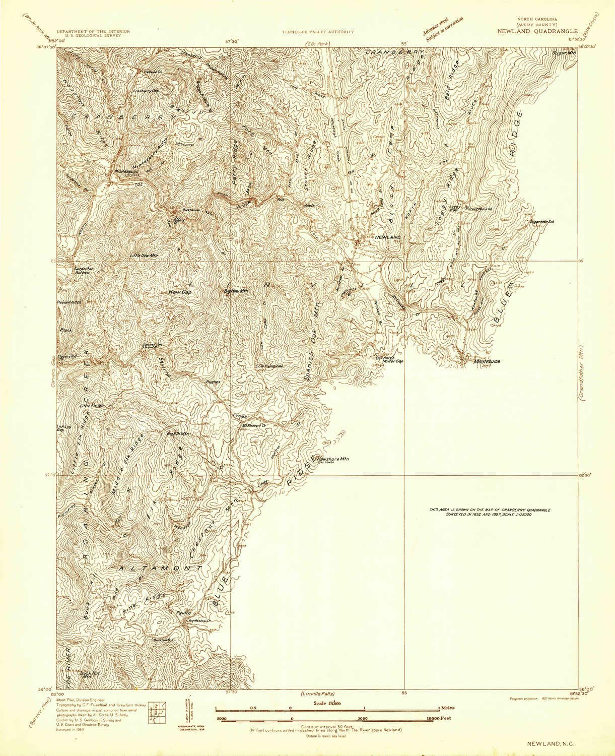 Amazon Com Yellowmaps Newland Nc Topo Map 1 24000 Scale 7 5 X