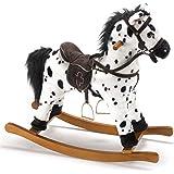 Bayer Chic 2000 405 06 Carlotta Cavallo a Dondolo colore: Bianco e Nero [Importato da Germania]