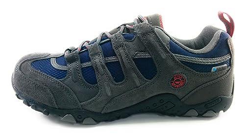 Hi-Tec Quadra WP Zapatillas Trekking Senderismo Montaña para Hombre (41 EU)