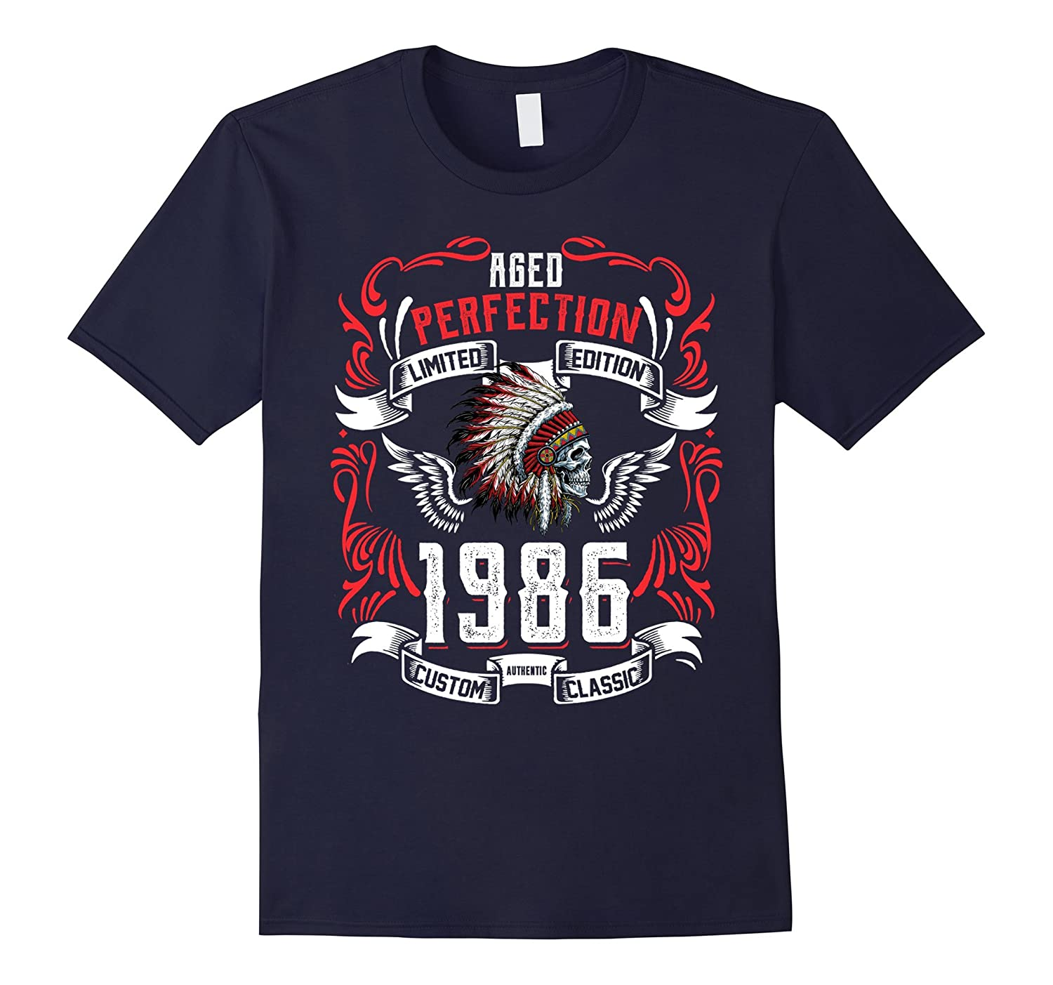 31th Birthday Limited Edition 1986 Tee Shirt-BN