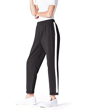 f18cde83174d find. Damen Hose Side Stripe  Amazon.de  Bekleidung