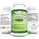 95% HCA Garcinia Cambogia Pure Extract Insanely Potent! Highest HCA Potency You Can Get! Decrease Appetite Increase Energy & Burn Fat Naturally. A WHOPPING 1400mg 95% HCA w/ Potassium 60 Capsules