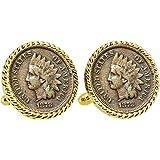 Aureus Of Otho Coin WC66A Pair of Cufflinks Made From English Modern Pewter cuff link cufflink