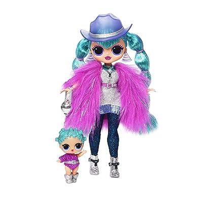 L.O.L. Surprise! O.M.G. Winter Disco Cosmic Nova Fashion Doll & Sister: Toys & Games