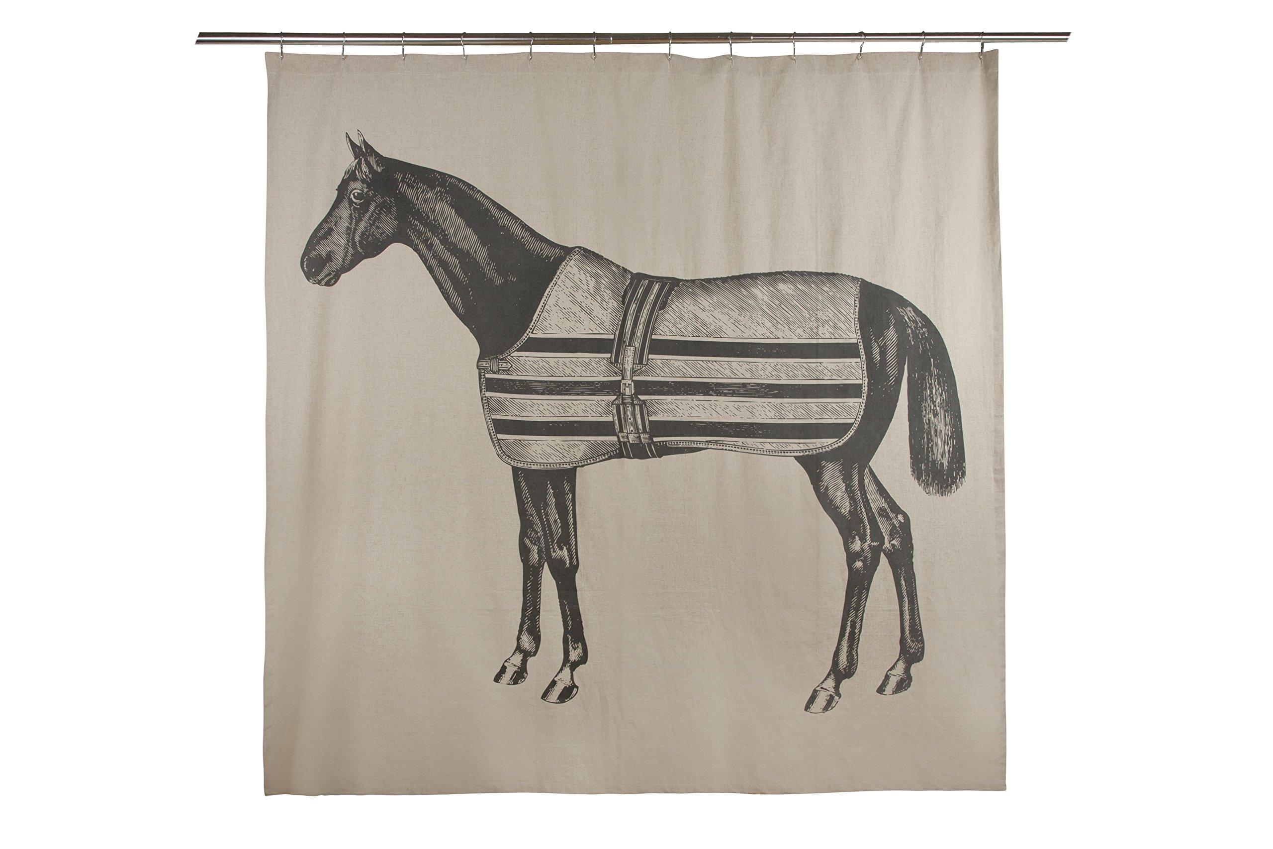 Thomas Paul Equestrian Shower Curtain