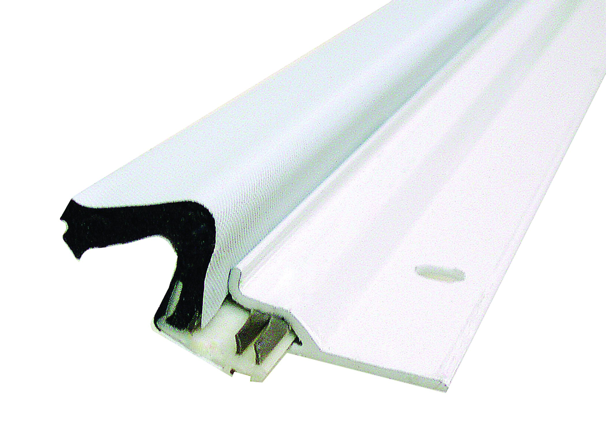 Frost King VA38W 1-1/4''/16-1/2' Aluminum and Kerf Seal Door Set, White