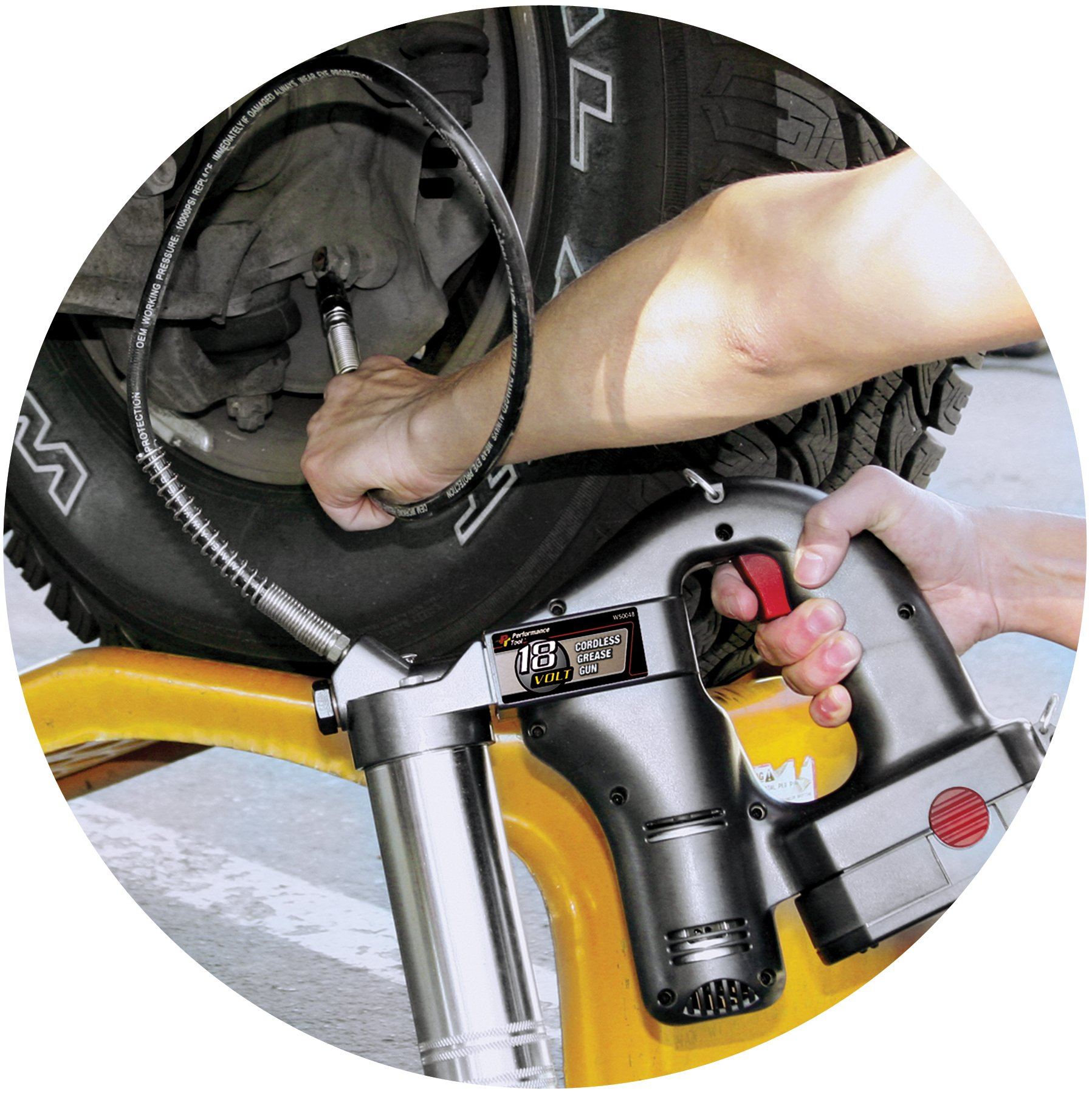 Performance Tool W50048 18-volt Cordless Grease Gun by Performance Tool (Image #4)