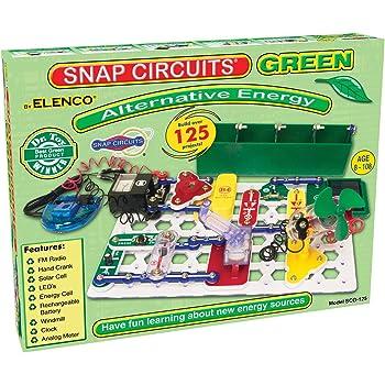 Amazon Com Snap Circuits Alternative Energy Green