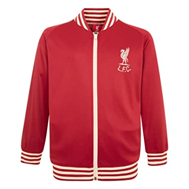 9852489cf Amazon.com  Liverpool FC LFC Kids Boys Red Shankly Track Jacket ...