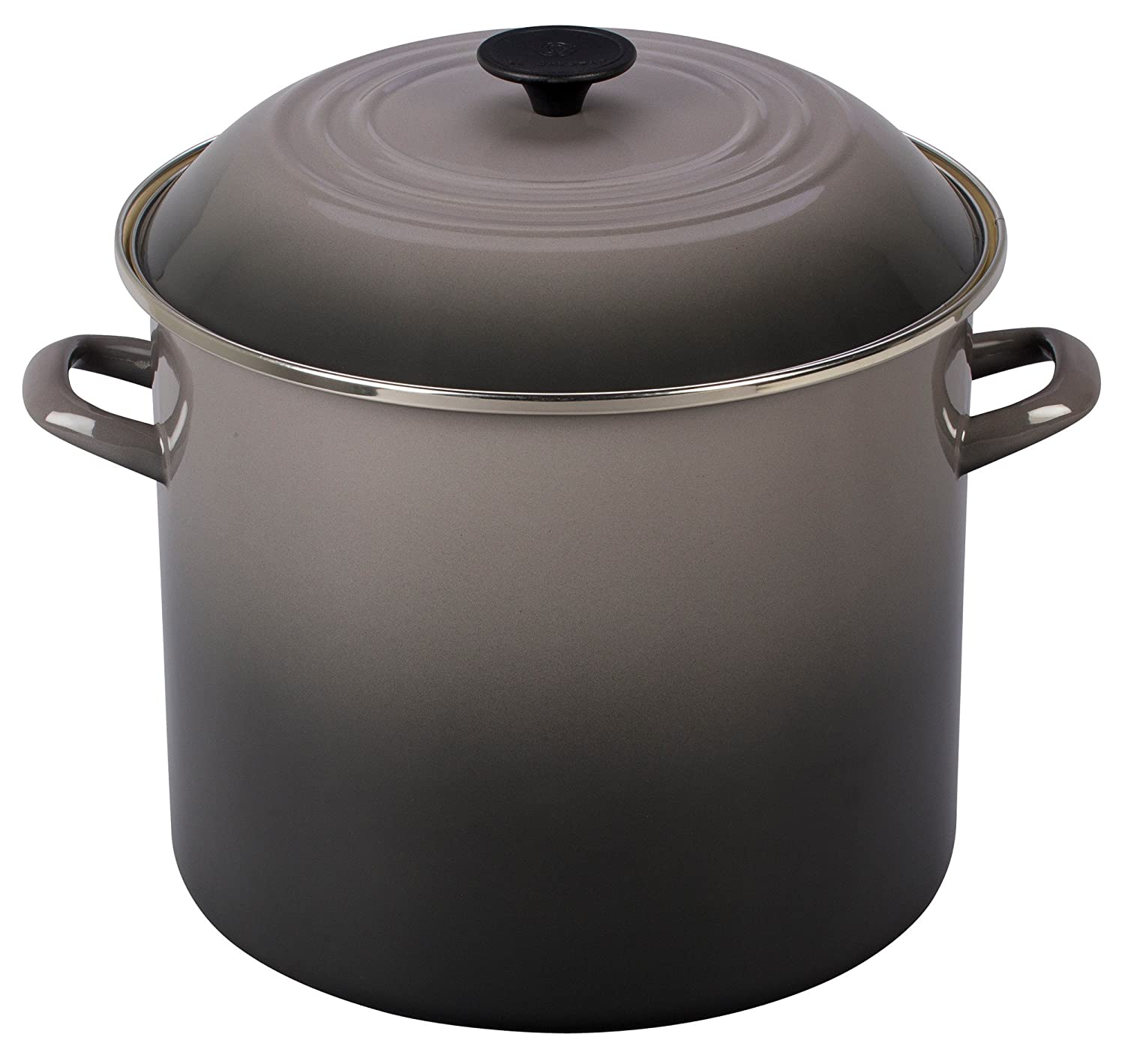 Le Creuset Enamel-on-Steel 16-Quart Covered Stockpot, Oyster