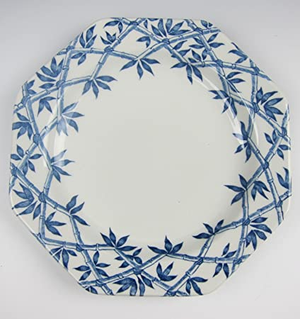 Amazon com   J & G Meakin China TRELLIS BLUE Dessert/Salad