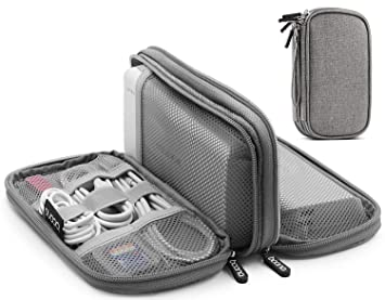Organizador de viaje electrónico, bolsa de viaje impermeable ...