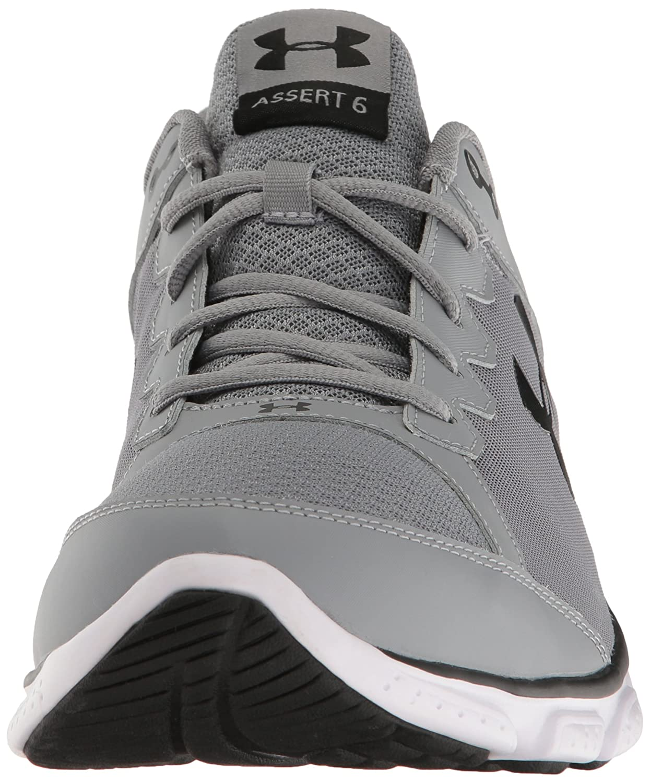 Sous Micro G Assert Hommes D'armure 6 Chaussures De Course - Noir / Blanc v4ZVwiJY