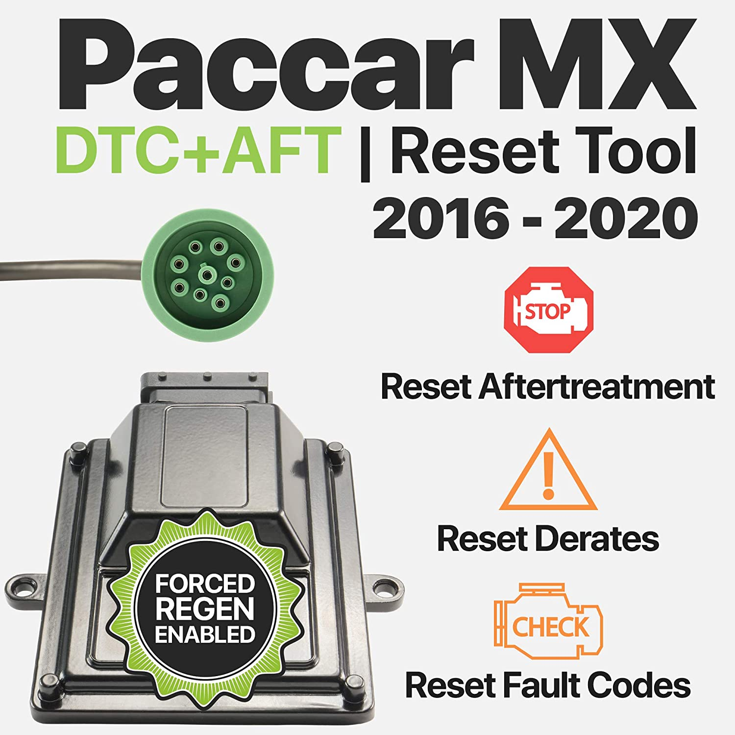 OTR Performance Paccar MX | Heavy Duty Diagnostic | Forced DPF Regen |  Reset Derates | Clear Inactive/Active Faults (2016-2020)