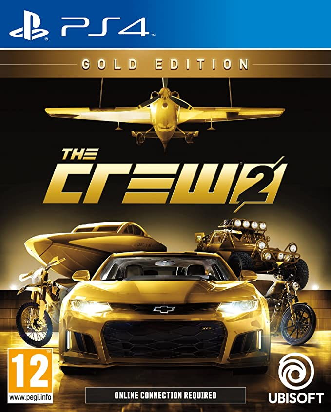 The Crew 2 Gold Edition - PlayStation 4 [Importación inglesa ...