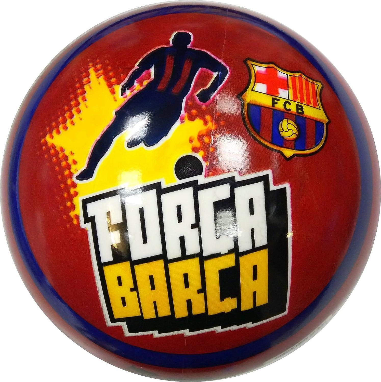 FC Barcelona Balón de goma de oficial de FC Barcelona FORCA Barca ...