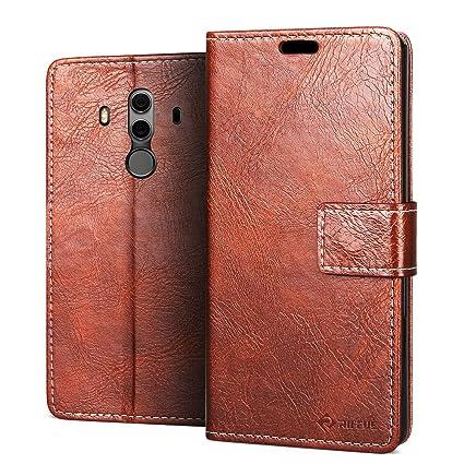 73d83b87c1 Amazon.com: RIFFUE Huawei Mate 10 Pro Case, Mate 10 Pro Wallet Case ...