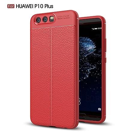 cover huawei p10 plus rossa