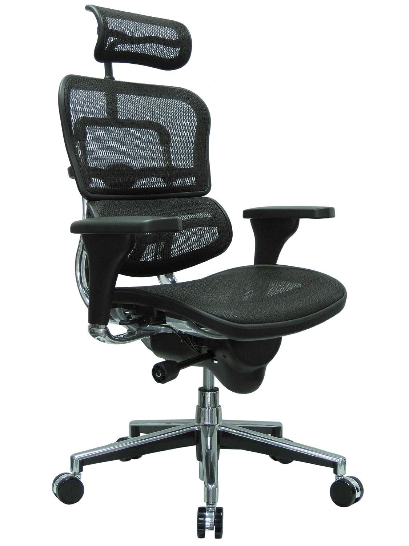 Ergohuman High Back Swivel Chair with Headrest