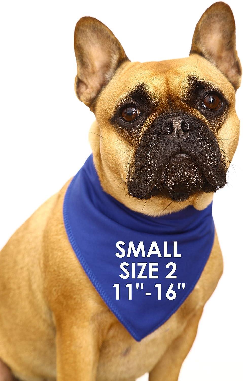 Spoilt Rotten Pets Designer Hundebandanas mit Superhero F/ür vierbeinige K/ämpfer mit Umhang.