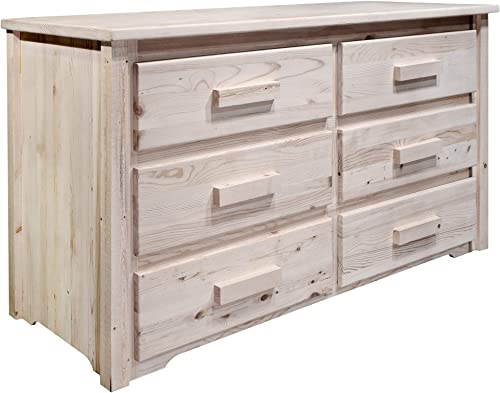 Montana Woodworks Homestead Collection 6-Drawer Dresser