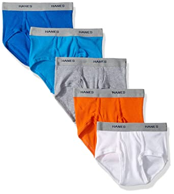 03dc71e7db51 Amazon.com: Hanes Baby Boys' Red Label Toddler Dyed Briefs(Pack of 5):  Clothing