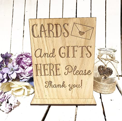 Wedding Cards And Gifts Signplaque Gift Table Signage To Go With