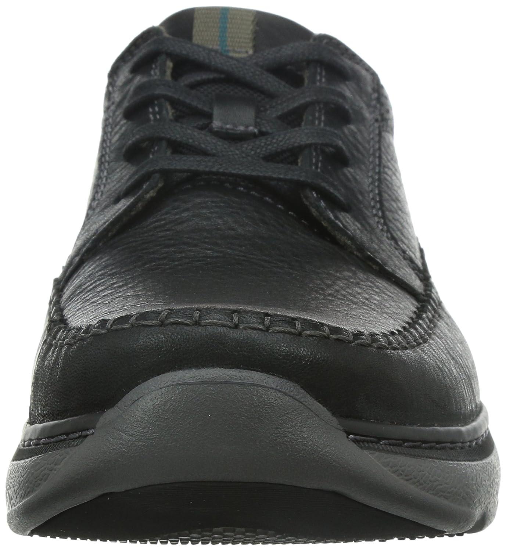 Clarks Casual Hombre Charton Vibe Piel Zapatos De Weite Passform Tamaño 44 uTOgkXE