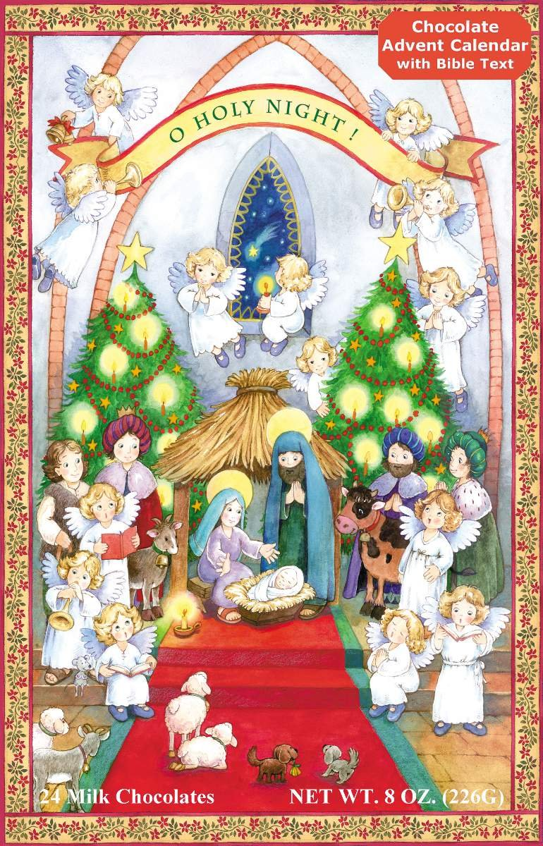 Buy Chocolate Advent Calendar & Nativity Story Online at Low ...