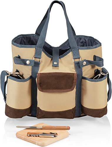 Legacy Picnic Time Brand Wine Country Tote with Cheese Service and Corkscrew