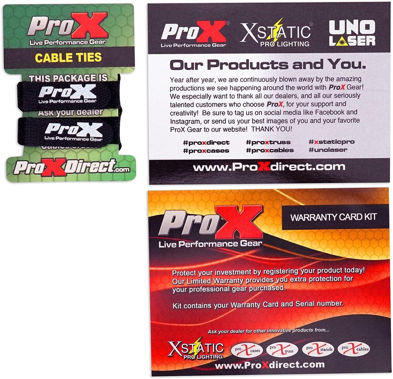 ProX X-MXTPRO3LTBL Black Travel Flight Case For Mixtrack Pro 3 w//Laptop Shelf