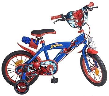 Tomisa- Spiderman Bicicleta con Pedales, 85.6 x 50.3 x 21.3 (874): Amazon.es: Juguetes y juegos