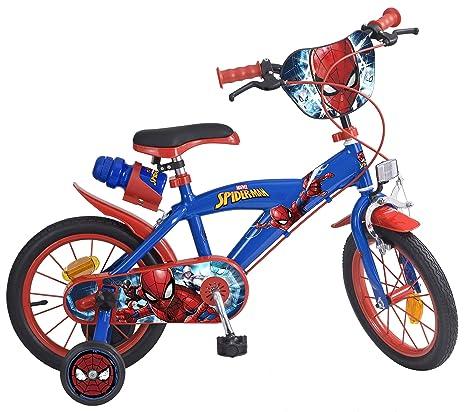 Toimsa 874 Spiderman Bicicletta Per Bambino Dimensioni 14 Da 4 A 7 Anni