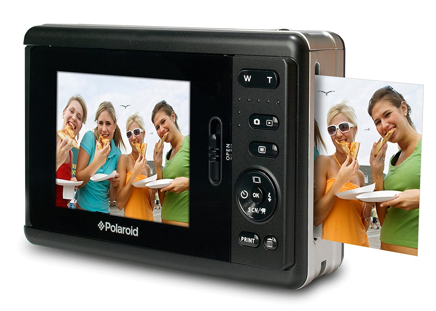 Amazon.com : Polaroid Instant Digital Camera with ZINK Zero Ink ...