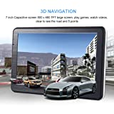 7 inch HD Car GPS Navigation , LESHP 7 inch HD Car GPS Navigation Android 8GB Quad-core Automobile 3D Navigator Smart Voice Reminding for Different Countries for Microsoft Windows CE 6.0