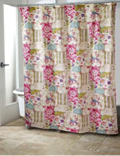 Garden Party Shbby Chic Fabric Shower Curtain By Avanti Linens