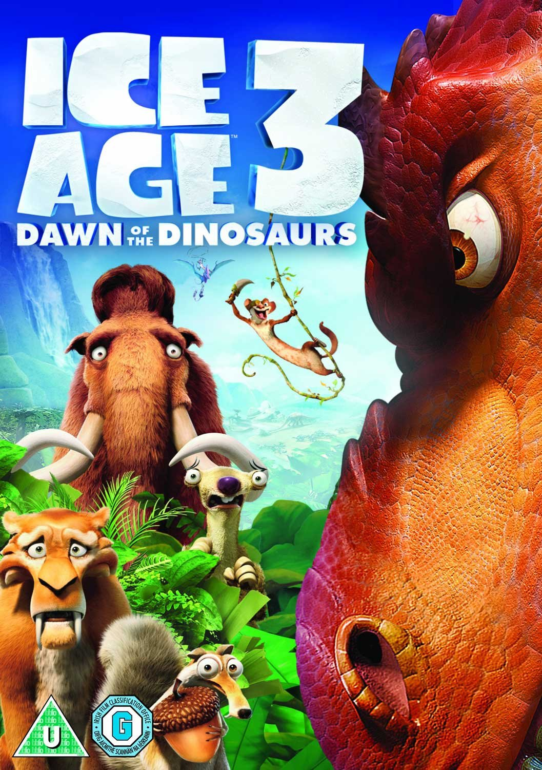 Amazon Com Ice Age 3 Dawn Of The Dinosaurs Dvd 2009 Ray Romano John Leguizamo Denis Leary Movies Tv