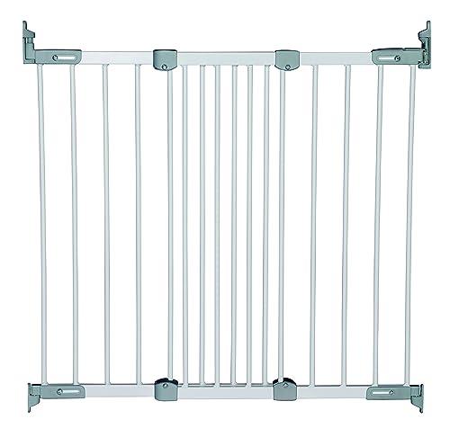 Babydan Flexi Fit Metal Safety Gate White Silver Amazon